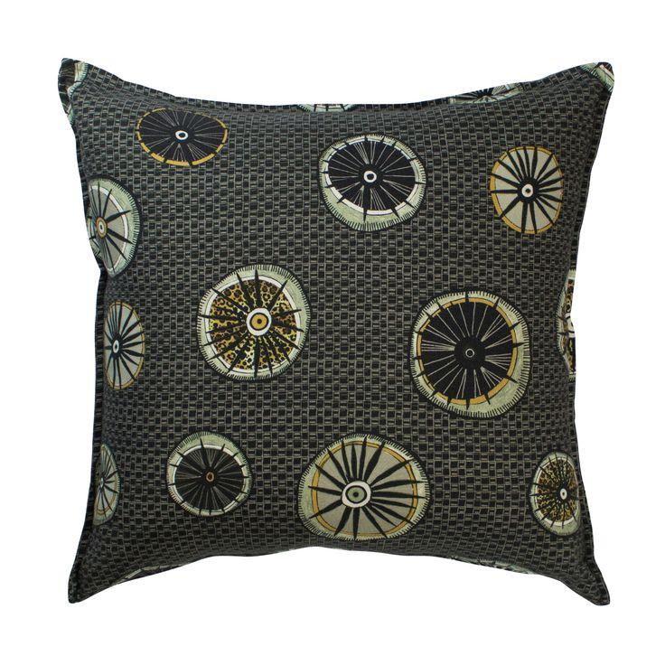Amasumpa linen cushion in Night