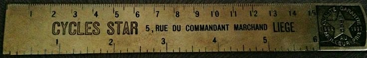 Nostalgic Brass Ruler