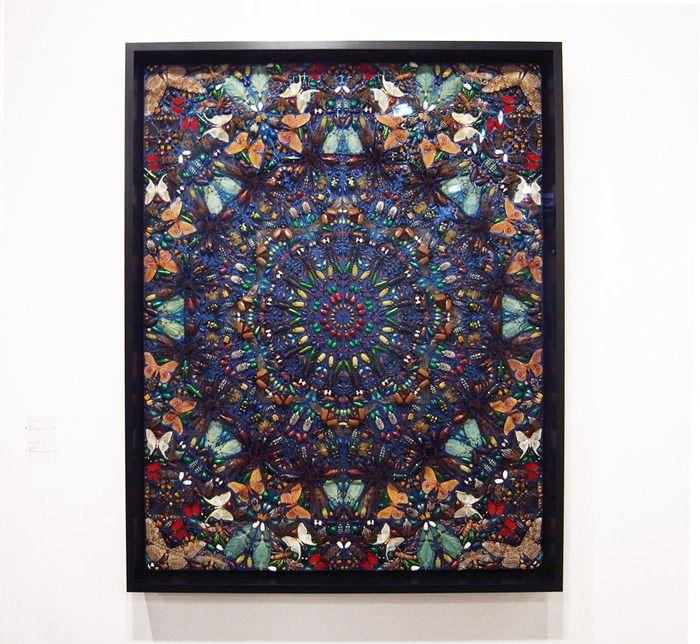 Дэмиен Херст представил новую работу на Art Basel в Майами