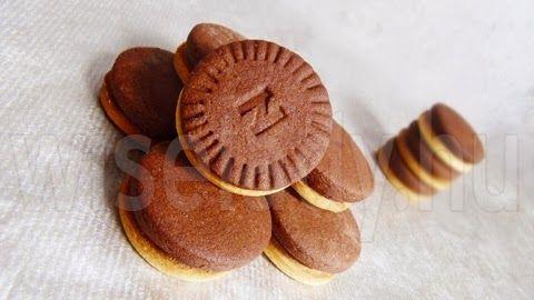 Anya főztje: Pilóta keksz házilag Hungarian popular cookie home made version