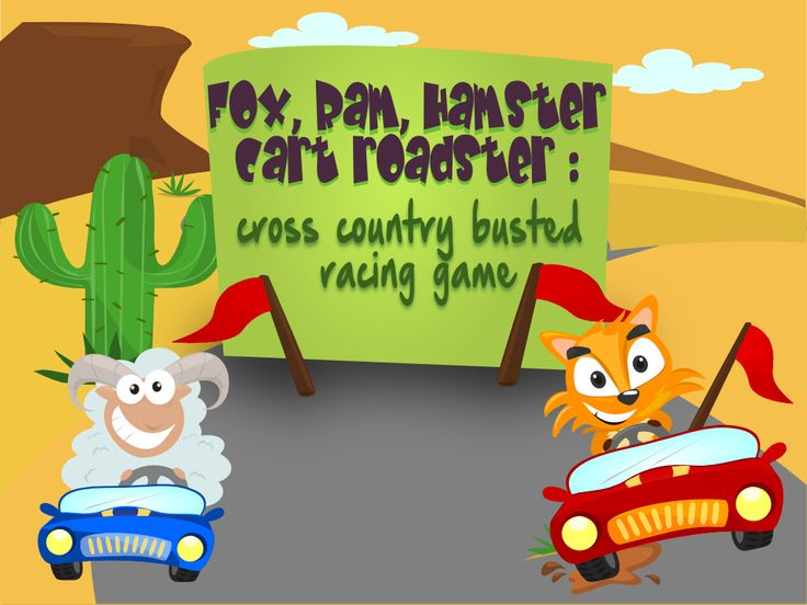 Each cars has it's own characteristics : foxy car is the fastest, ram car has the high fueled energy and hamster has the amazing speed. Find out how to they surpass all the obstacles that they will encounter on the road all the way to finish line. Who will win the race? It's up to you! Challenging?