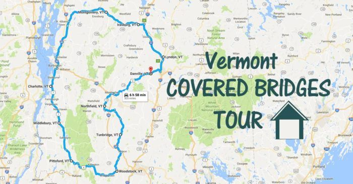 Covered Bridge Tour In Vermont