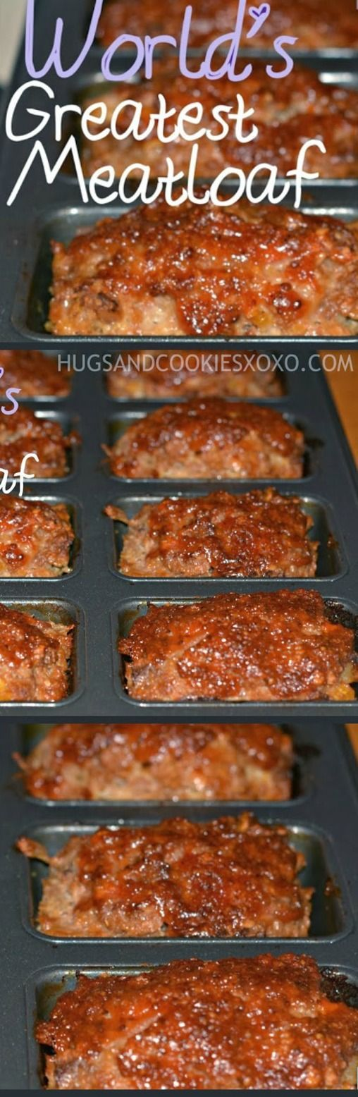 Mom's Famous Meatloaf ~ The best meatloaf recipe ever!