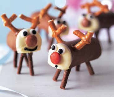 Reindeer mini rolls | ASDA Recipes