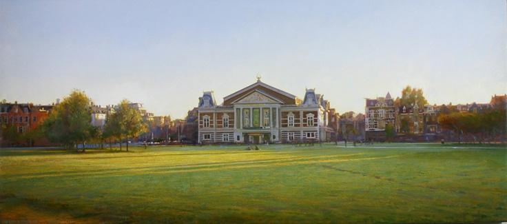 Museumplein Amsterdam, by Gerard Huysman