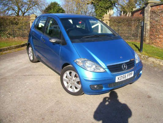 Used 2006 (56 reg) Blue Mercedes-Benz A Class A180 CDI Special Edition 5dr for sale on RAC Cars
