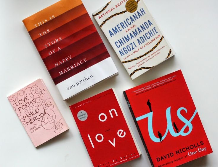 My Top Five Books About Love