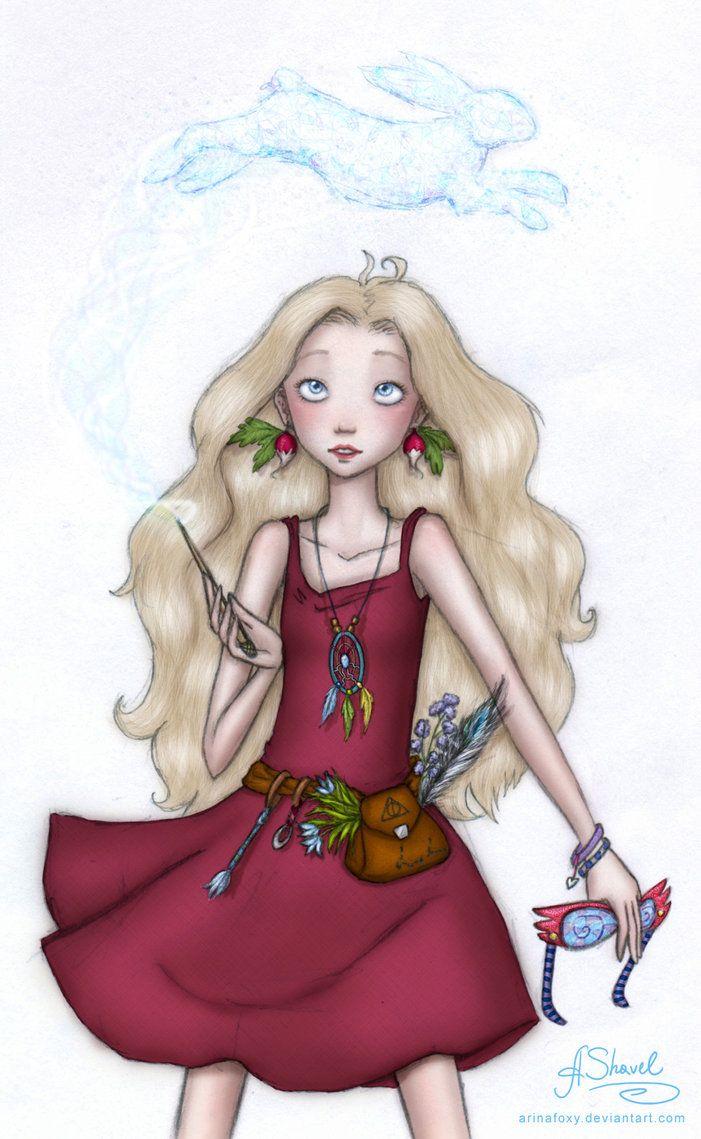 ...Luna Lovegood... by ArinaFoxy on deviantART