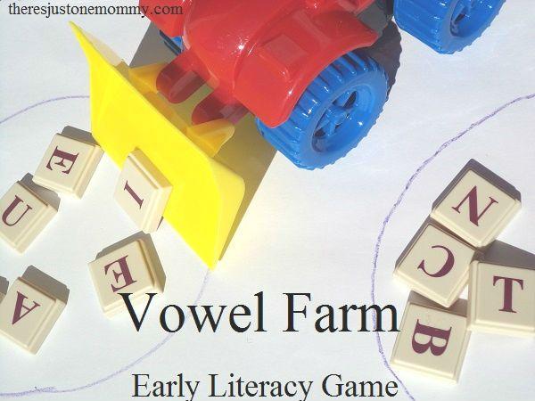 Vowel Farm — Game to Promote Vowel Recognition