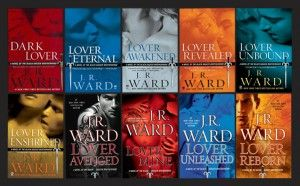 JR Ward  Black Dagger Brotherhood- Awesome read!