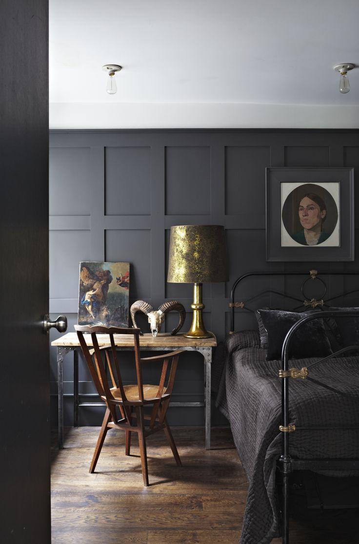 Dark Wall Panelling - Love!