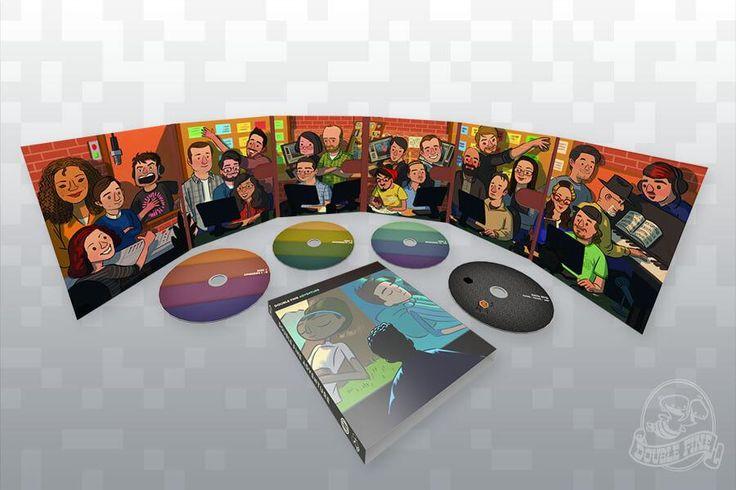 Double Fine Adventure Definitive Edition Blu-Ray - Fangamer