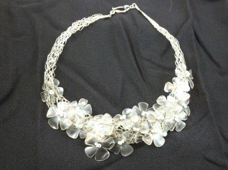 Sent to you by nunok via Google Reader:     Recycled plastic bottles necklace via Recyclart by Neokentin on 11/15/12 This...
