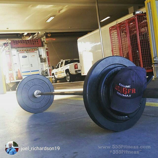 TRAIN HARD DO WORK   #Repost @joel_richardson19 WOD for the day: Warm up- 50-40-30-20-10 Jump rope (x2 can't do double-unders)  Sit ups  9/11 Remembrance WOD: 3 rounds for time: 165# power cleans 20 pushups  15 burpees  7:28  WOD for FDNY Firefighter Glenn Perry Ladder 25 @555fitness#instarepost20 ________________________________________  Want to be featured? Show us how you train hard and do work   Use #555fitness in your post and tag your friends for fun…