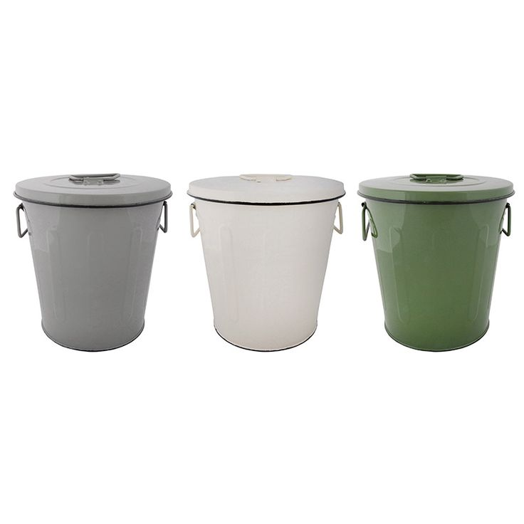 Konyhai zöldhulladéktároló 3 színben.