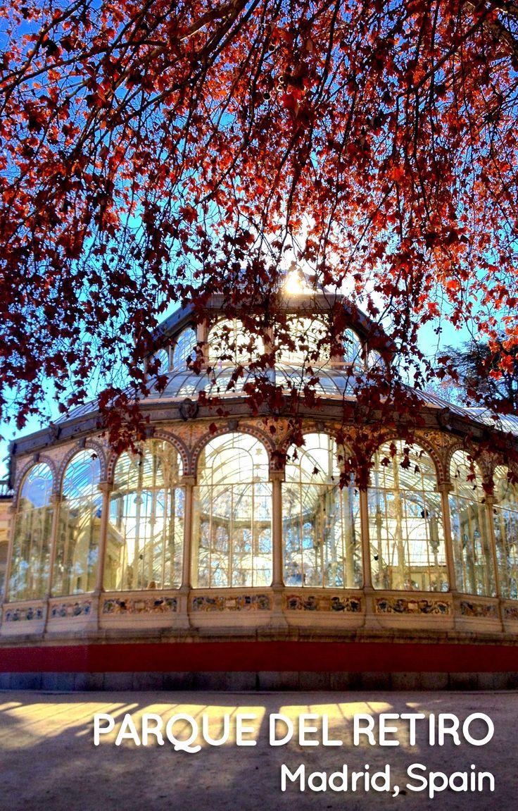 Parque del Retiro in Madrid, Spain #visitspain #spain #madrid