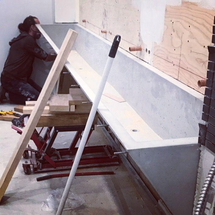 309 best AtelierB - béton images on Pinterest Bench, Bowls - maison en beton coule