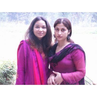 Indian Desi Aunties in Pink Salwar Kameez Dress