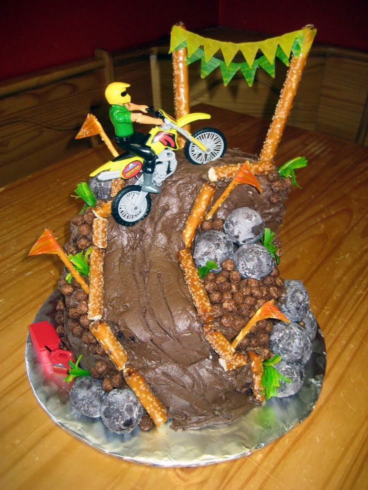 The Cake Cow: Dirt Bike Mountain