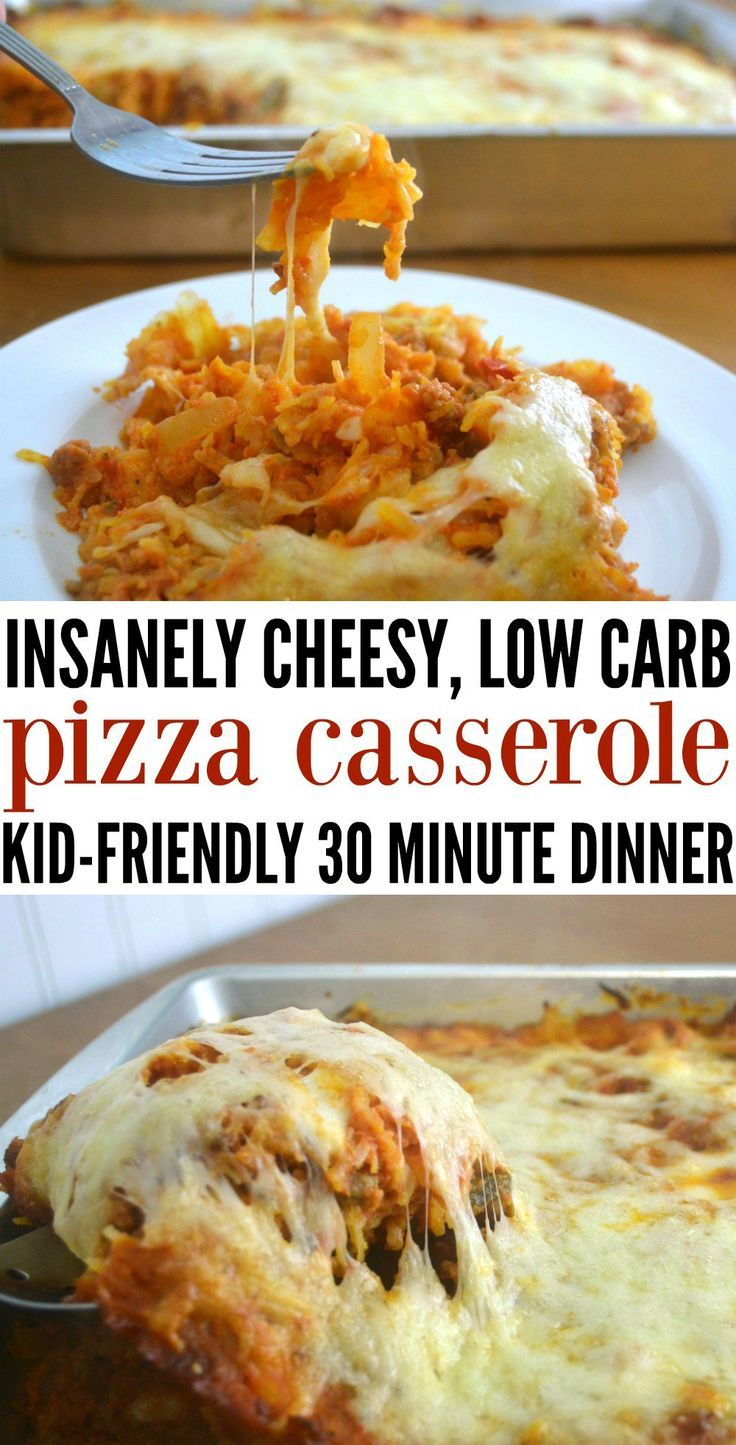 Kid friendly dinner low cArb