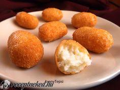 A legjobb Egyszerű sajtkrokett recept fotóval egyenesen a Receptneked.hu gyűjteményéből. Küldte: aranytepsi