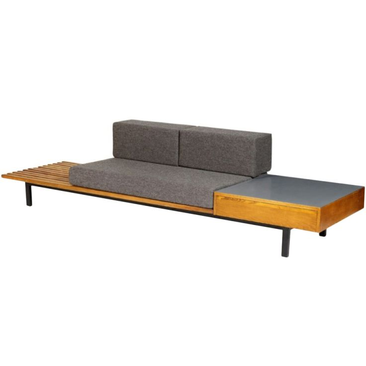 1stdibs   Sofa by Charlotte Perriand, 1950s