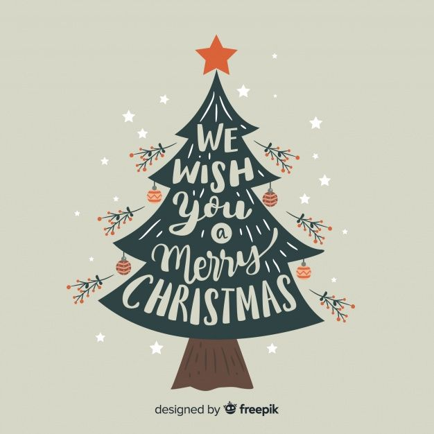 Flat Christmas Tree Background Free Vector Freepik Freevector Freebackground Freechristma Tree Illustration Flat Christmas Tree Christmas Tree Background