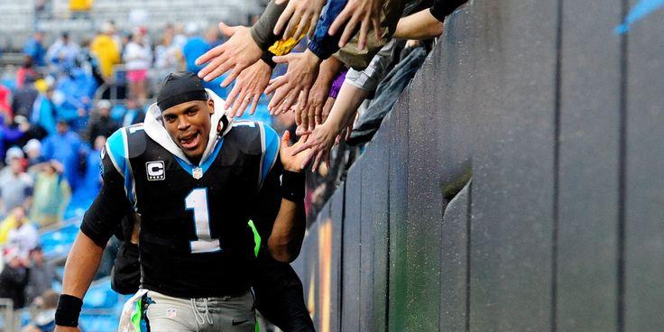 cam newton gay | Panthers Top Saints 17-13: Cam Newton Throws Late TD Pass, Carolina ...