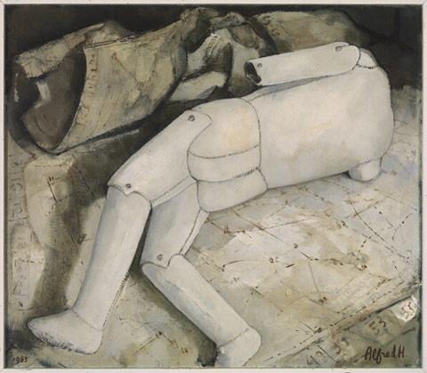 schilderijen - Alfred Hafkenscheid - Kunstschilder
