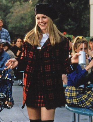 New on JNSQ. Buffalo Check and Berets.   #CherHorowitz #Clueless