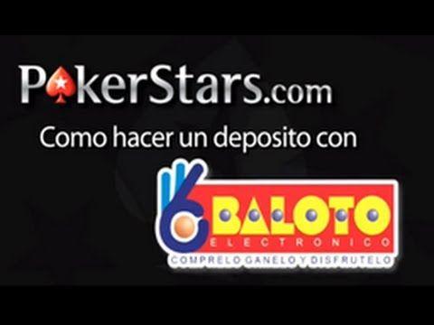 Depositar en PokerStars desde Baloto para Jugar Poker en Colombia