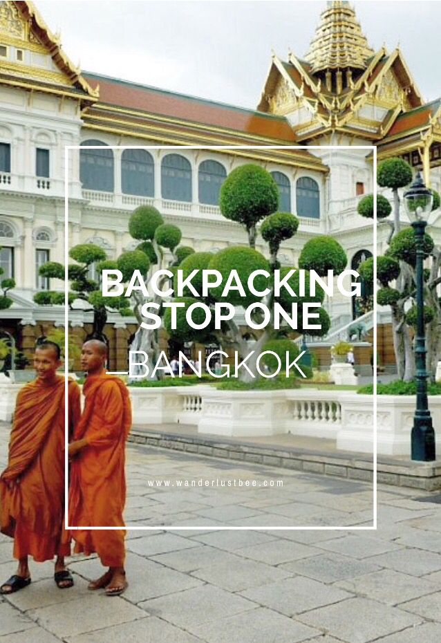 Backpacking tour of Thailand starting in Bangkok. Temples, floating markets, Khao San road and getting a first taste of Thailand