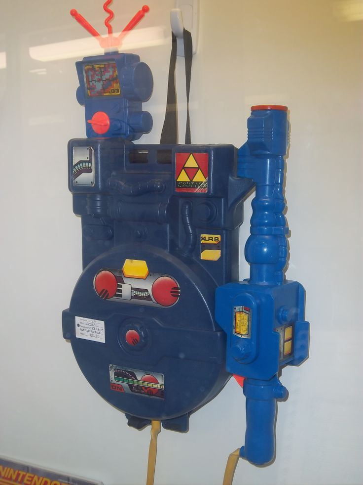 Who ya gonna call? Take care of some ghosts and poltergeists with this Ghost Busters Proton Pack toy! Great, now I have that song stuck in my head..