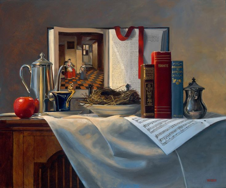 Oil Paintings::Michelle Waldele, fine art oil painter of representational, classical realism and vintage whimsy