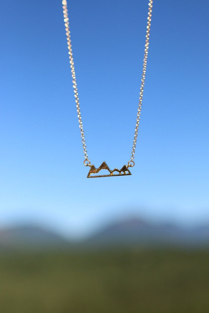 The Mountains Are Calling Necklace