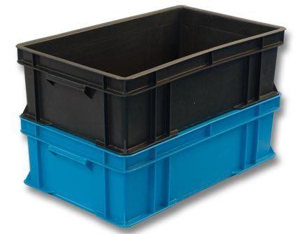 Пластиковые ящики в Новосибирске / Серия № 300. Ящики пластиковые для молочной продукции. / Ящик пластиковый сырково-творожный