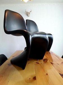 2 Chaises Panton chair retro vintage Herman Miller 1959 West Island Greater Montréal image 2