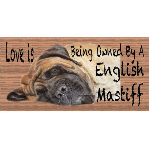 English Mastiff GS407 by GiggleSticks on Etsy, $5.99