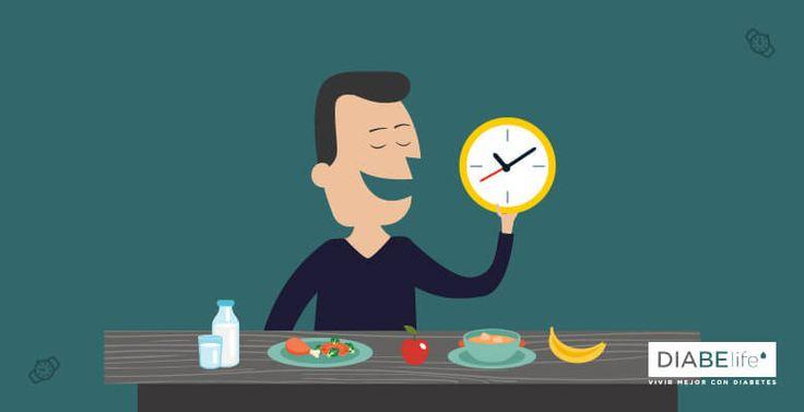 Para mantener el nivel de glicemia estable, es recomendable comer muchas raciones de alimentos distribuidos a lo largo del día.