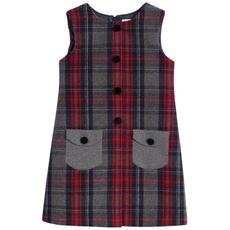 Dolce & Gabbana - Sleeveless tartan woollen cloth dress - 91987