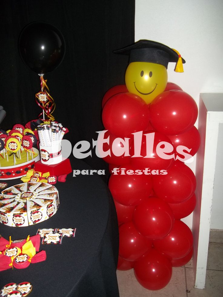 Graduacion Decoracion ~ Fiestas on Pinterest
