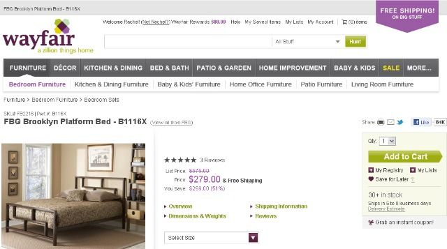 Online Retail Giant CSN Stores Rolls Its 200+ Shopping Sites Into One Brand: Wayfair.com | TechCrunch