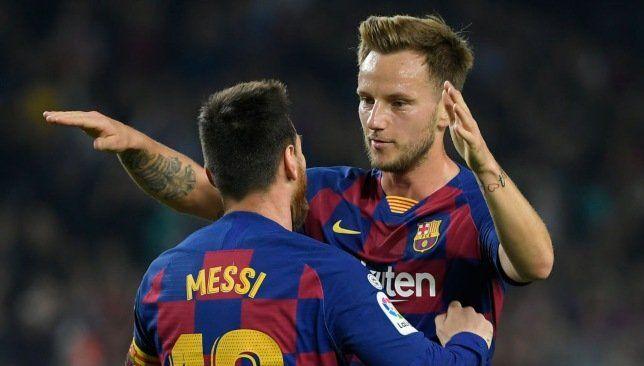راكيتيتش بالطبع أريد أن ألعب مع كريستيانو رونالدو Ivan Rakitic Lionel Messi Atletico Madrid