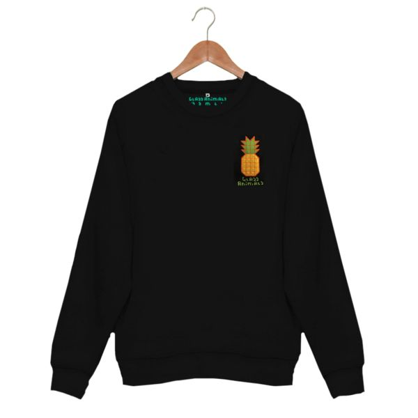 £35 :: Glass Animals pineapple sweatshirt (men/women/fashion/clothes/apparel/streetwear/bands/music)