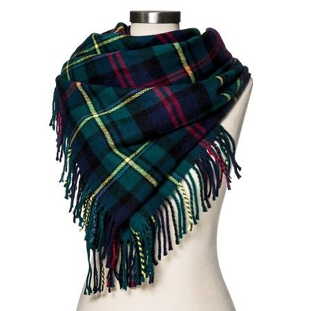 Women's Blanket Scarf Classic Navy Plaid - Merona™ : Target http://www.target.com/p/women-s-blanket-scarf-classic-navy-plaid-merona/-/A-51113274