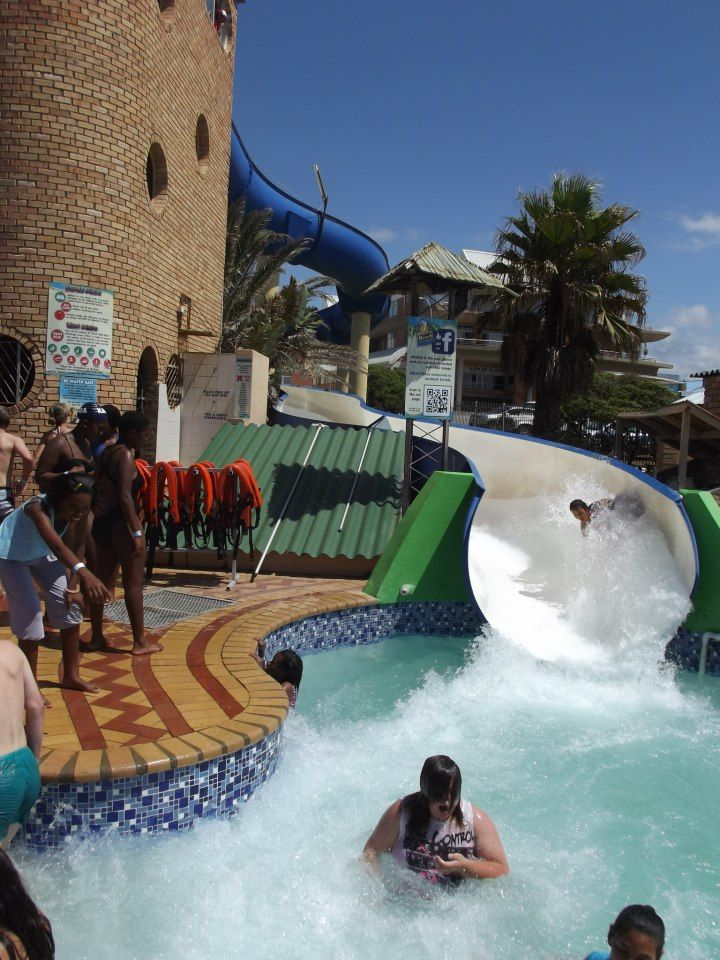 The water-park and water-slides nearby!
