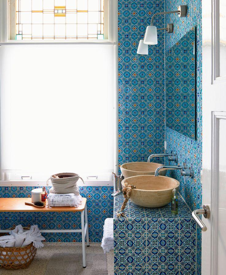 9 besten Gäste-Wc Bilder auf Pinterest Gäste wc, Badezimmer und - bad blau braun