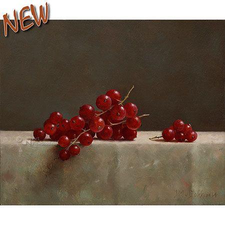 Rode bessen   Marius van Dokkum - Art Revisited
