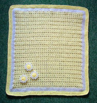 marianna's lazy daisy days: Daisy Baby Blanket