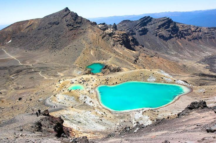 Emerald Lakes, Tongariro Crossing, New Zealand by Patrick Civello on 500px